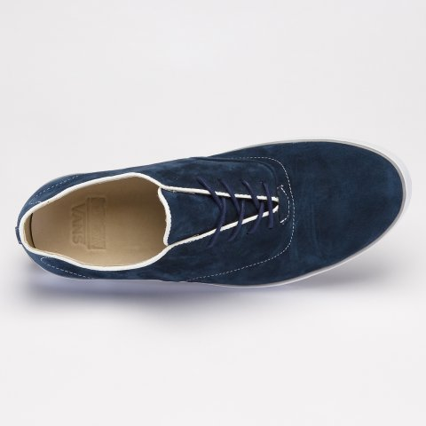 "Tenisky Vans ""Off The Wall"" Woessner Suede Peacoat Blue/White"