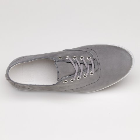 "Tenisky Vans ""Off The Wall"" Woessner Nubuck Leather Steel/Grey"