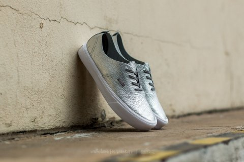 Vans Authentic Decon (Leather) Silver