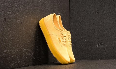 Vans Authentic Platform (Suede Outsole) Ochre/ Tawny Olive