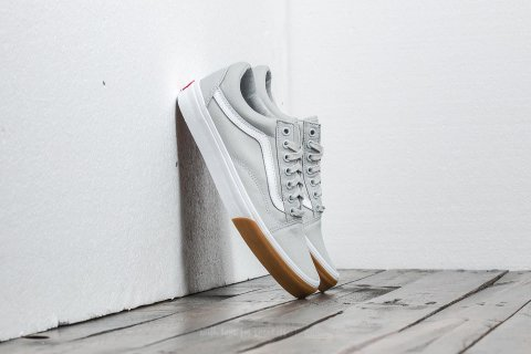 Vans Old Skool (Gum Bumper) Glacier Grey/ True White