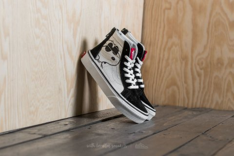 Vans x Peanuts Sk8-Hi Zip  Joe Cool/ Black