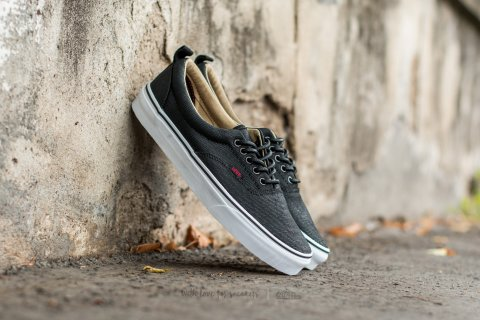 Vans Era PT (Military Twill) Black/ True White
