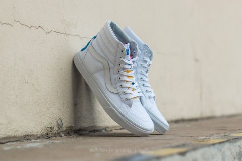 Vans Sk8-Hi Reissue (1966) True White/ Blue/ Red