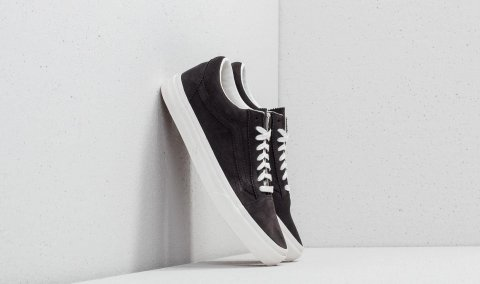 Vans Old Skool (Pinked Suede) Licorice/ Black