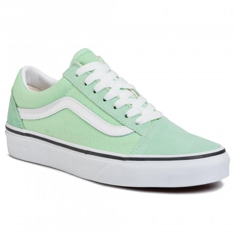 Tenisky VANS - Old Skool VN0A4U3BWKO1  Green Ash/True White (40)