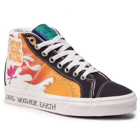 Sneakersy VANS - Style 238 VN0A3JFIWZ21 (Mother Earth) Elmntmshmlw (35)