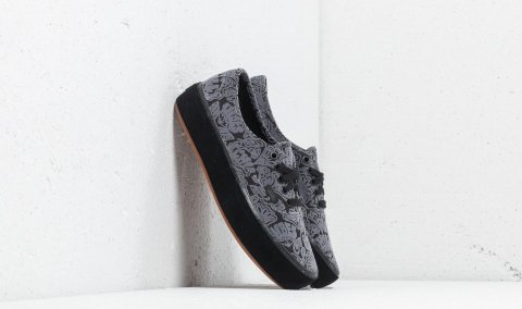 Vans Authentic Platform (Sidewall Wrap) Suede/ Black