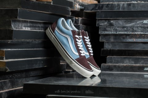 Vans Old Skool 36 DX (Anaheim Factory) Brown/ Light Blue